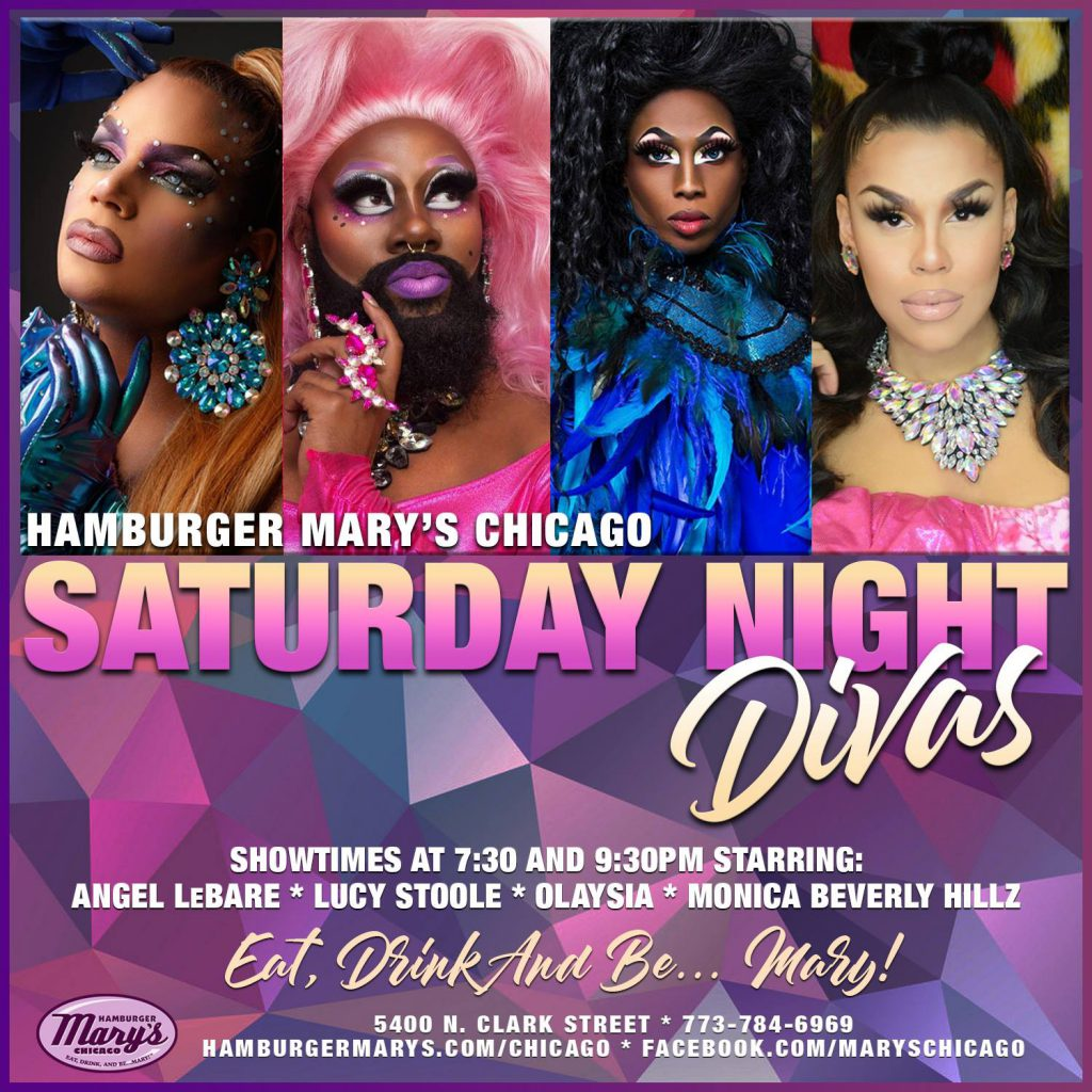 """""""Dining with the Divas"""" drag show"""