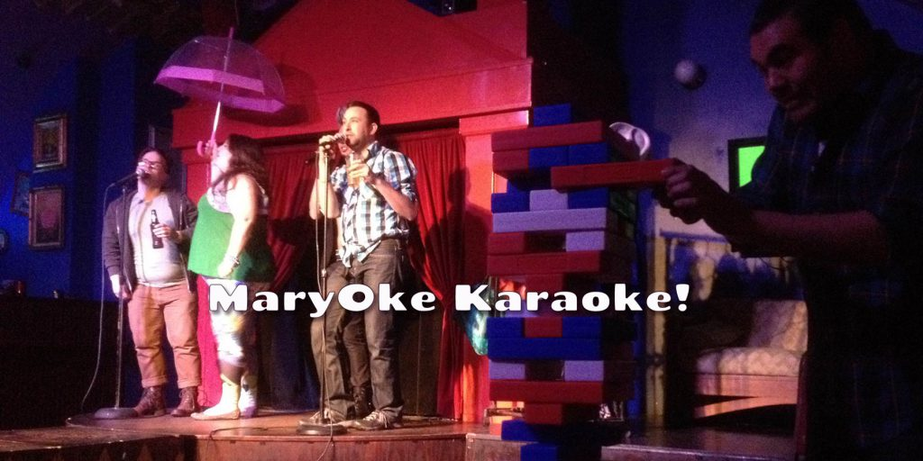 MaryOke Karaoke... Sundays at 9:30pm