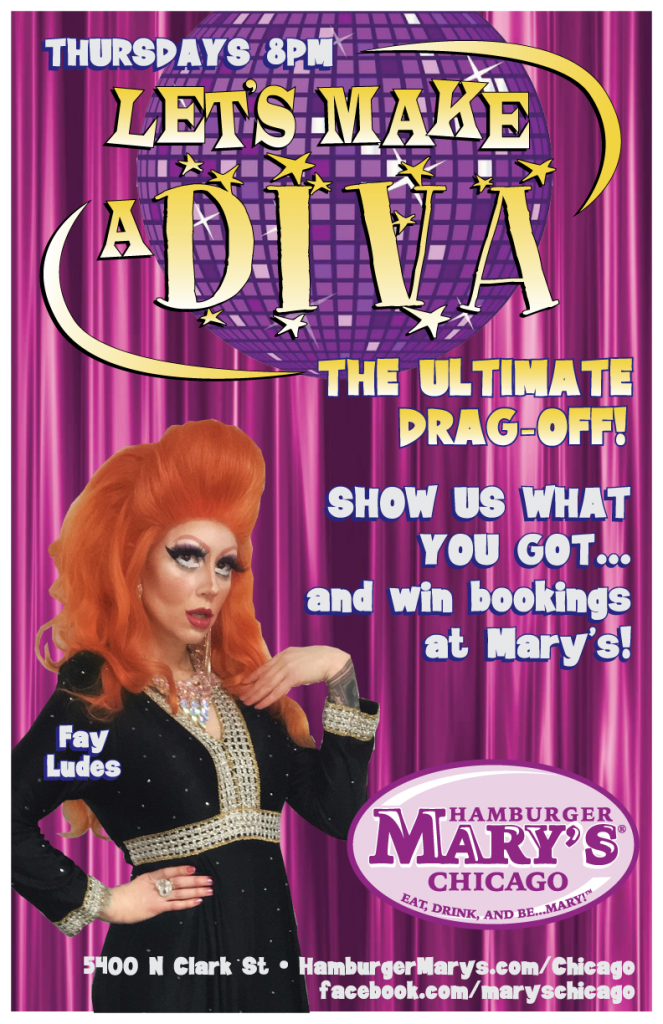Let's Make a Diva... Weekly amatuer drag competition