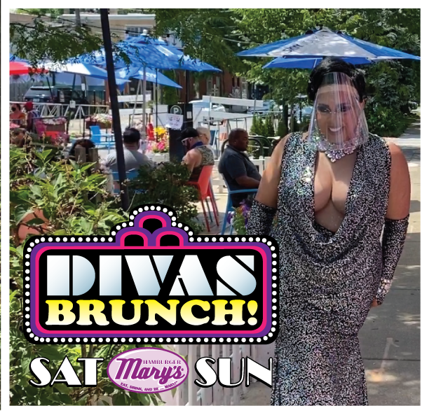 CeeCee LaRouge performs on Mary's Patio for Diva Brunch