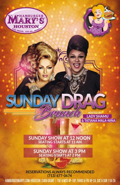 Sunday Drag Brunch
