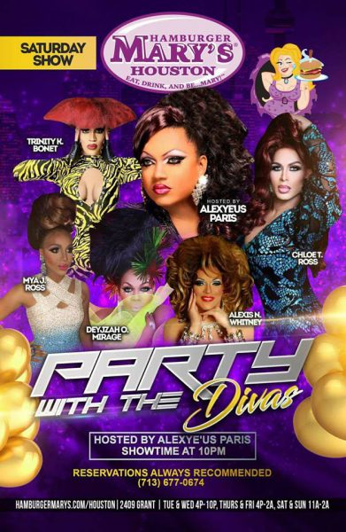Partying with the Divas