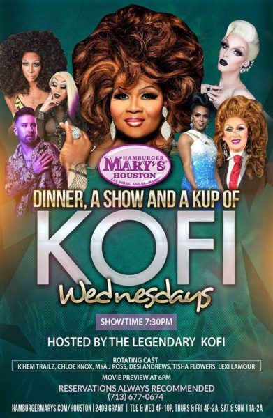 Dinner, A Show & A Kup of Kofi