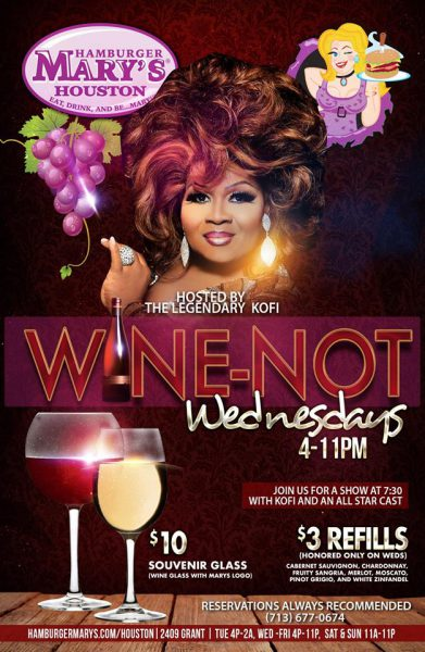 Wine-Not Wednesdays