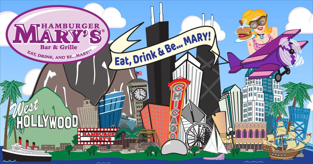 Hamburger Mary's | Eat, Drink, and Be… MARY!