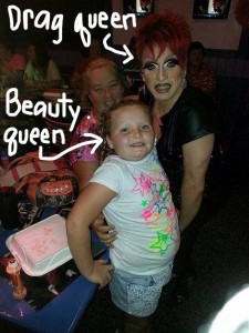 Honey Boo Boo playing bingo at Hamburger Marys Jacksonville