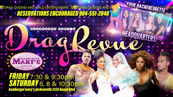 Saturday Night Drag Revue Promo
