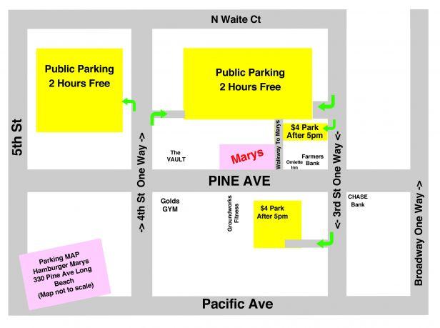 Parking Map Long Beach