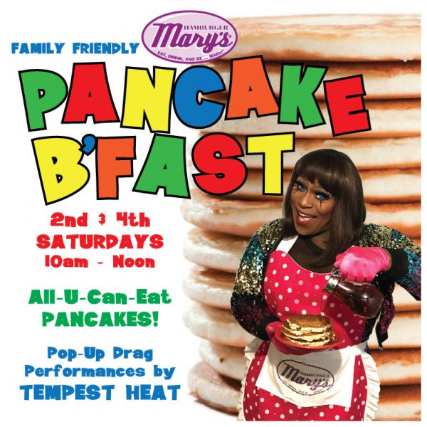 Family-Friendly Pancake Breakfast 2nd & 4th Saturdays 10am - noon