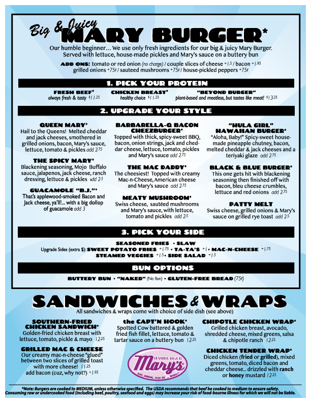 Milwaukee limited menu.  For text friendly menu, visit our menu on DoorDash.com