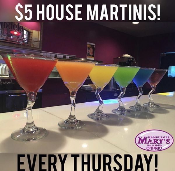 $5 House Martinis Every Thursday
