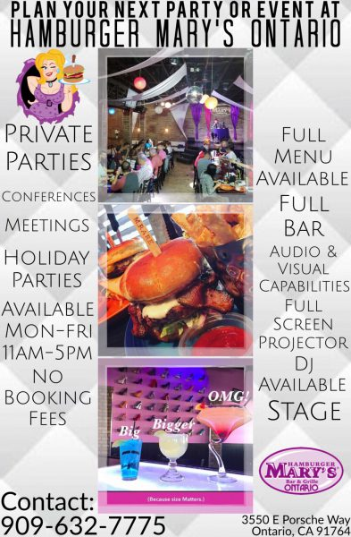 Plan Your Party at Marys