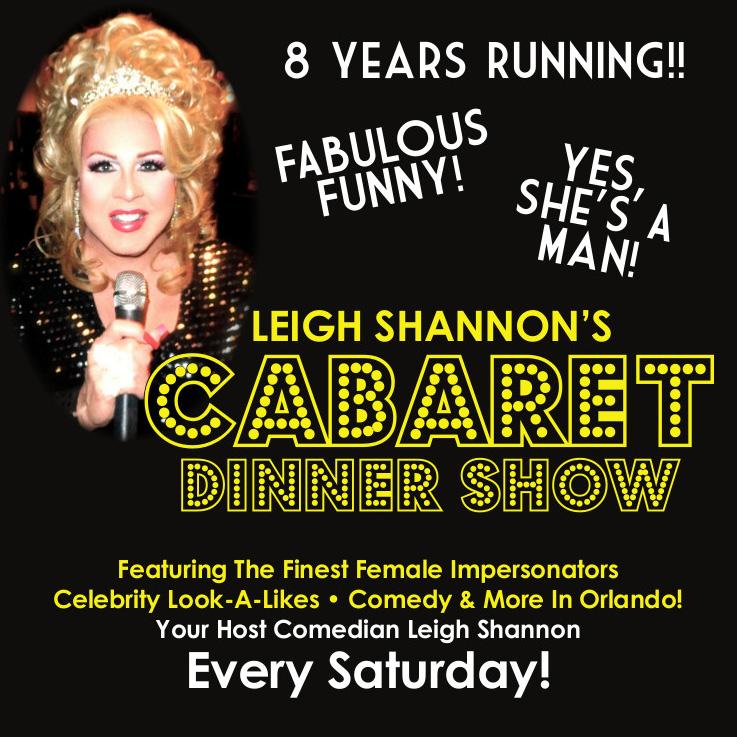 Leigh Shannon's Cabaret Dinner Show