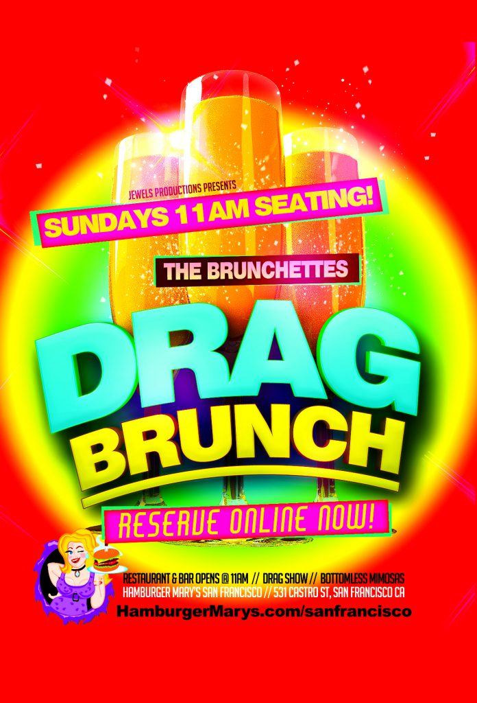 Saturday Drag Brunch at 11am