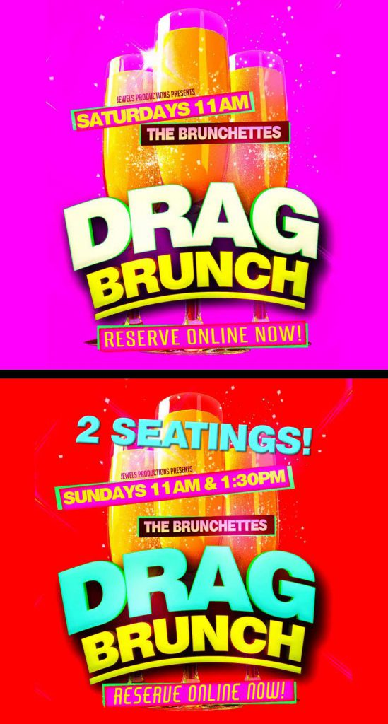 drag brunch saturdays and sundays