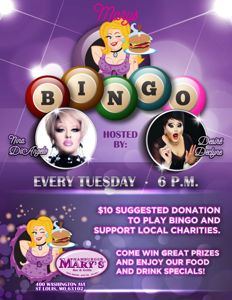 BINGO Every Tuesday